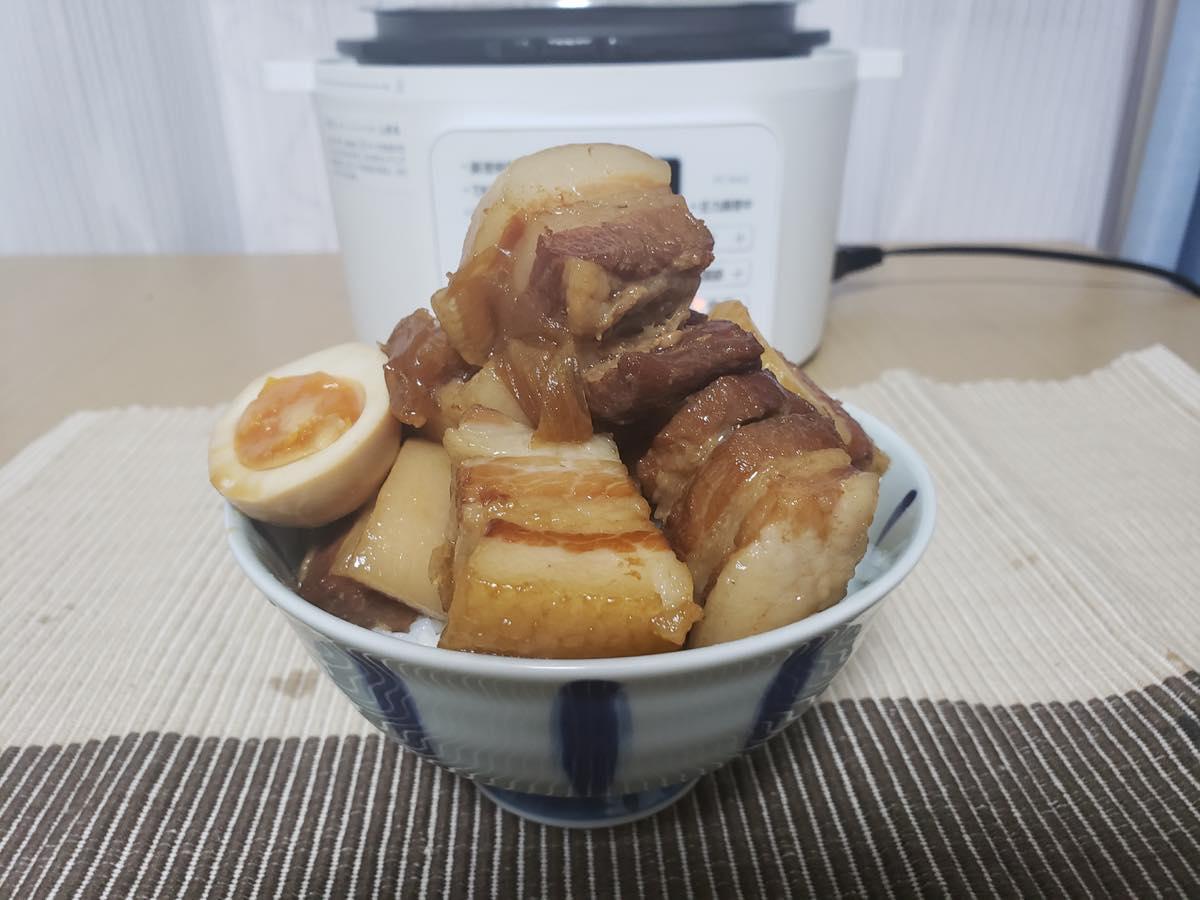 角 煮 鍋 圧力 豚 の