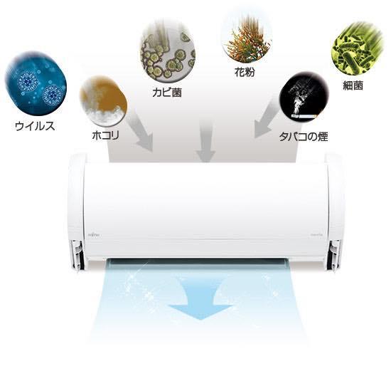 空気 清浄 機能 付き エアコン