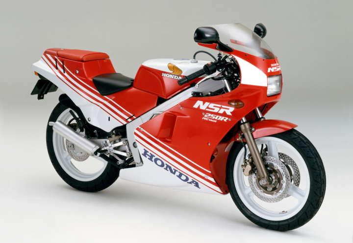 ▲1986年式「NSR250R」(MC16)