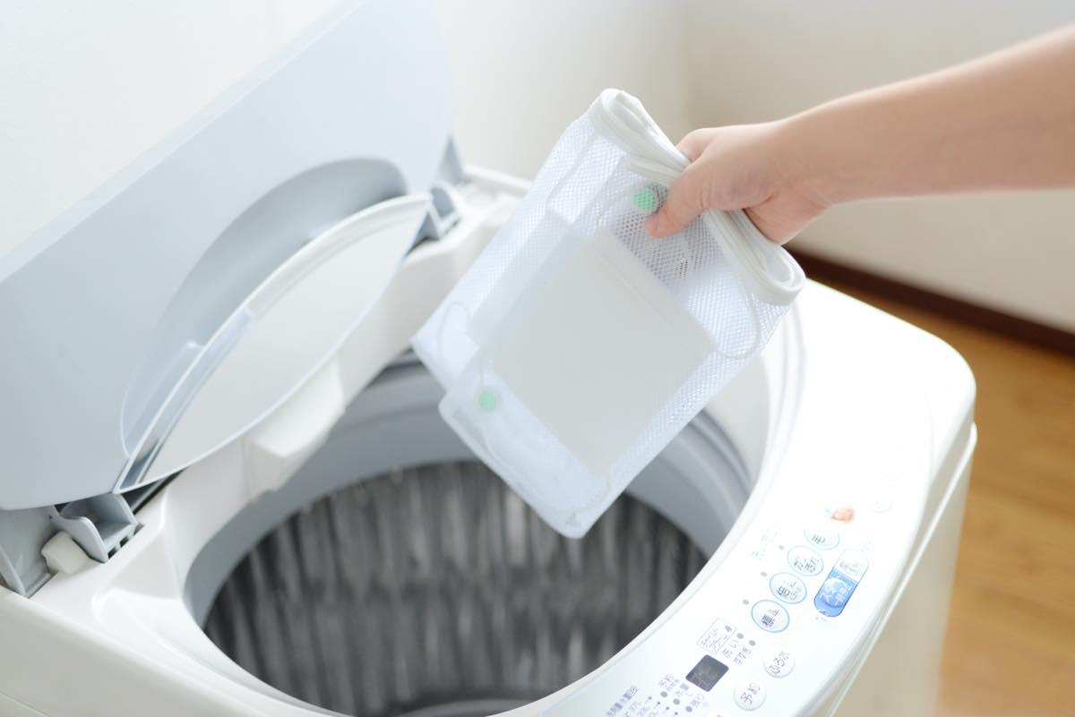 洗濯 ネット マスク 機
