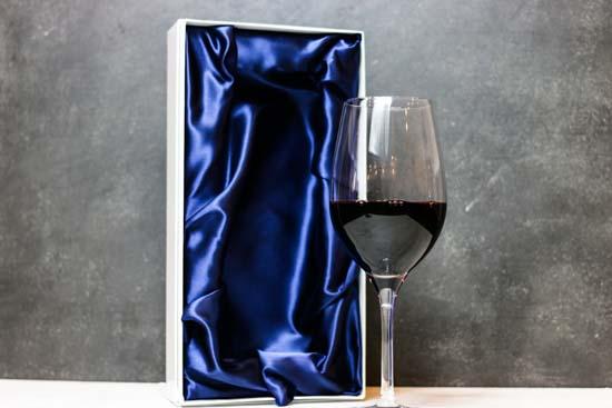 【名入れギフト】クリスタルワイングラス