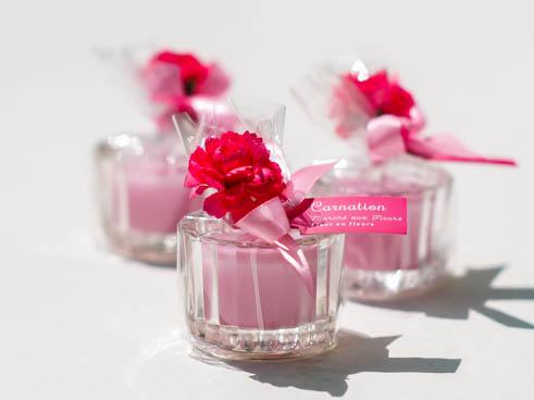 ちょっとした贈り物に♡「ミニグラスキャンドル」