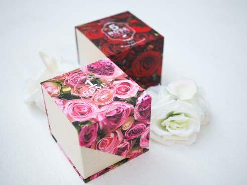 ローズナンバーフレグランスBOX ピンク、レッド