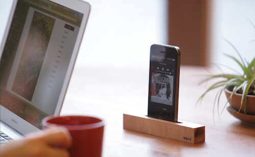 iPhone stickspeaker