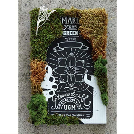 GREEN ART KIT BOTTLE FLOWER