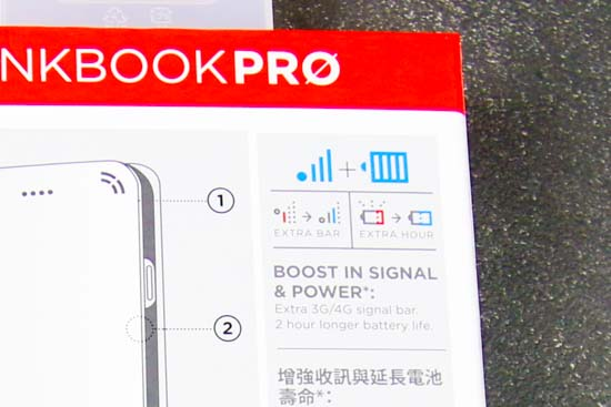 LINKBOOK PRO for iPhone 7 :4Gシグナル拡張ケース