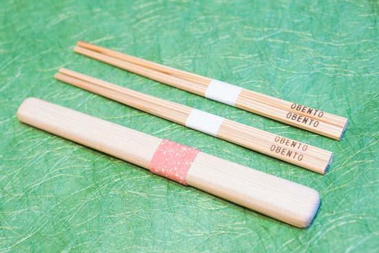 箸箱入おべんとう箸(小)