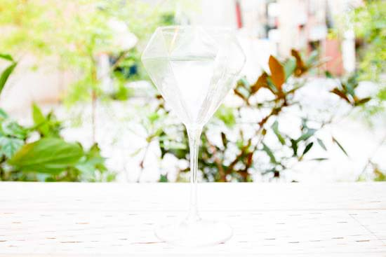 Diamond Glass(ワイングラス)ロングステム