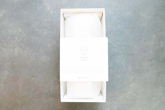 Diamond Glass(ワイングラス)ロングステムペア