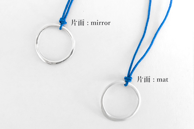 kakeru-グラスホルダー(SILVER +コットンコード)