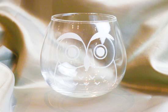 プレゼント「Fukurou Glass set」の写真