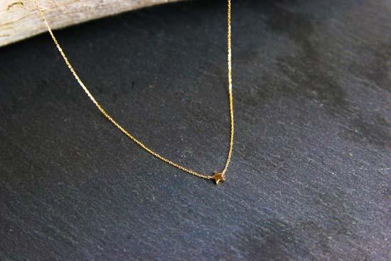 K10yg tiny motif diamond necklace tanp k10yg tiny motif diamond necklace mozeypictures Choice Image