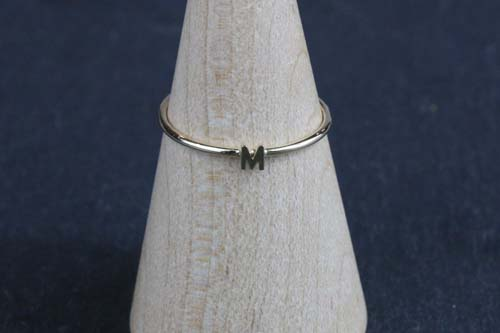 K10 Tiny Initial Ring