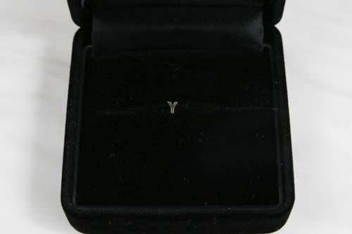 K10 Tiny Initial Pierce