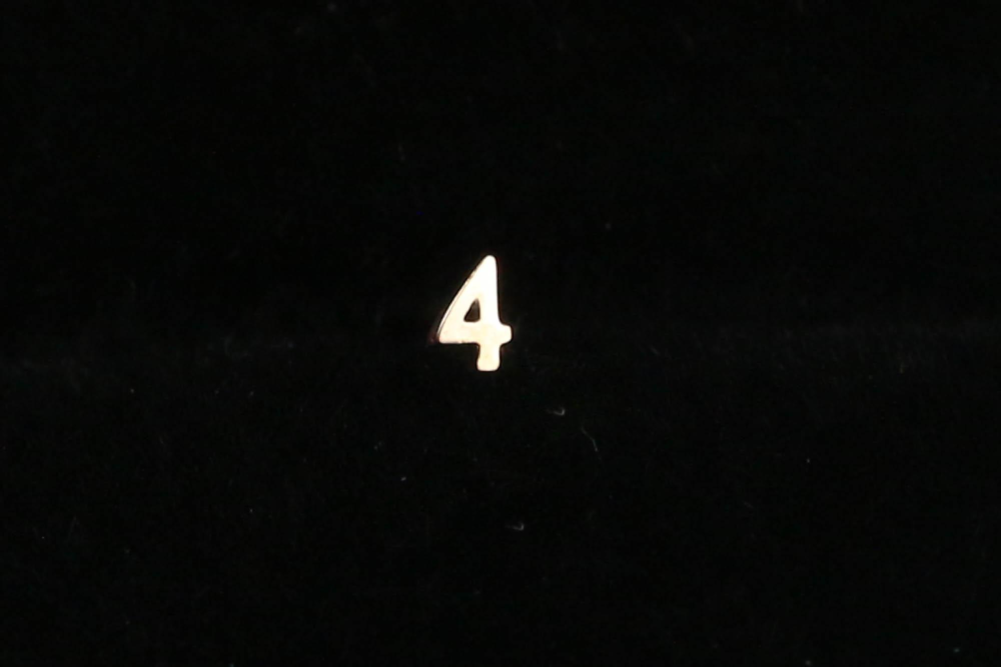 K10 Tiny Number Pierce