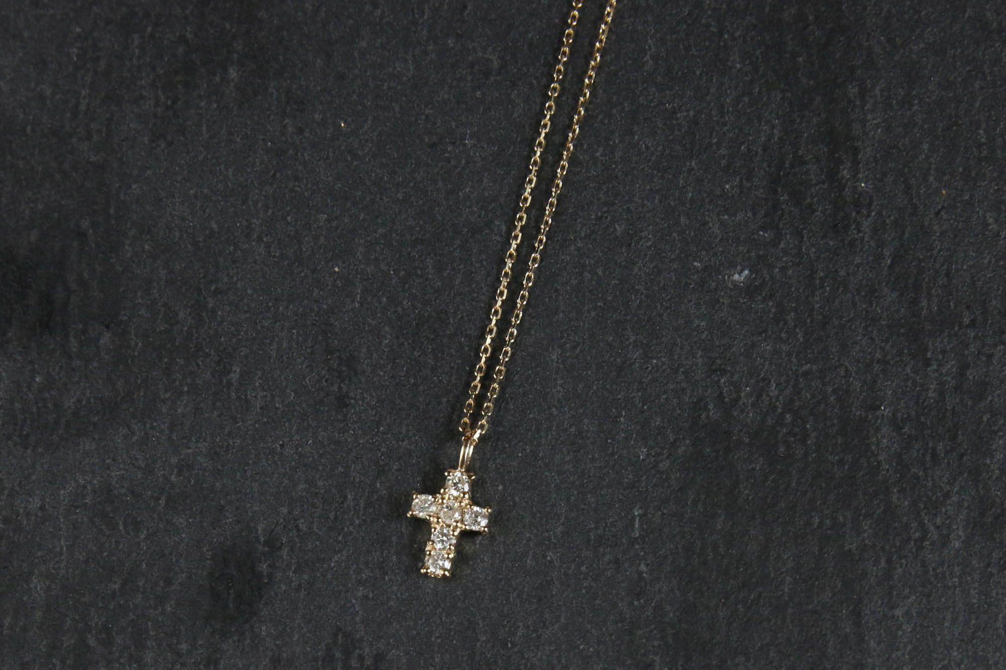 K10 Cross Motif Necklace