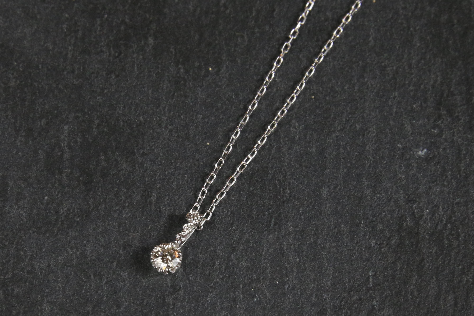 K10 Diamond Total:0.10ct Necklace