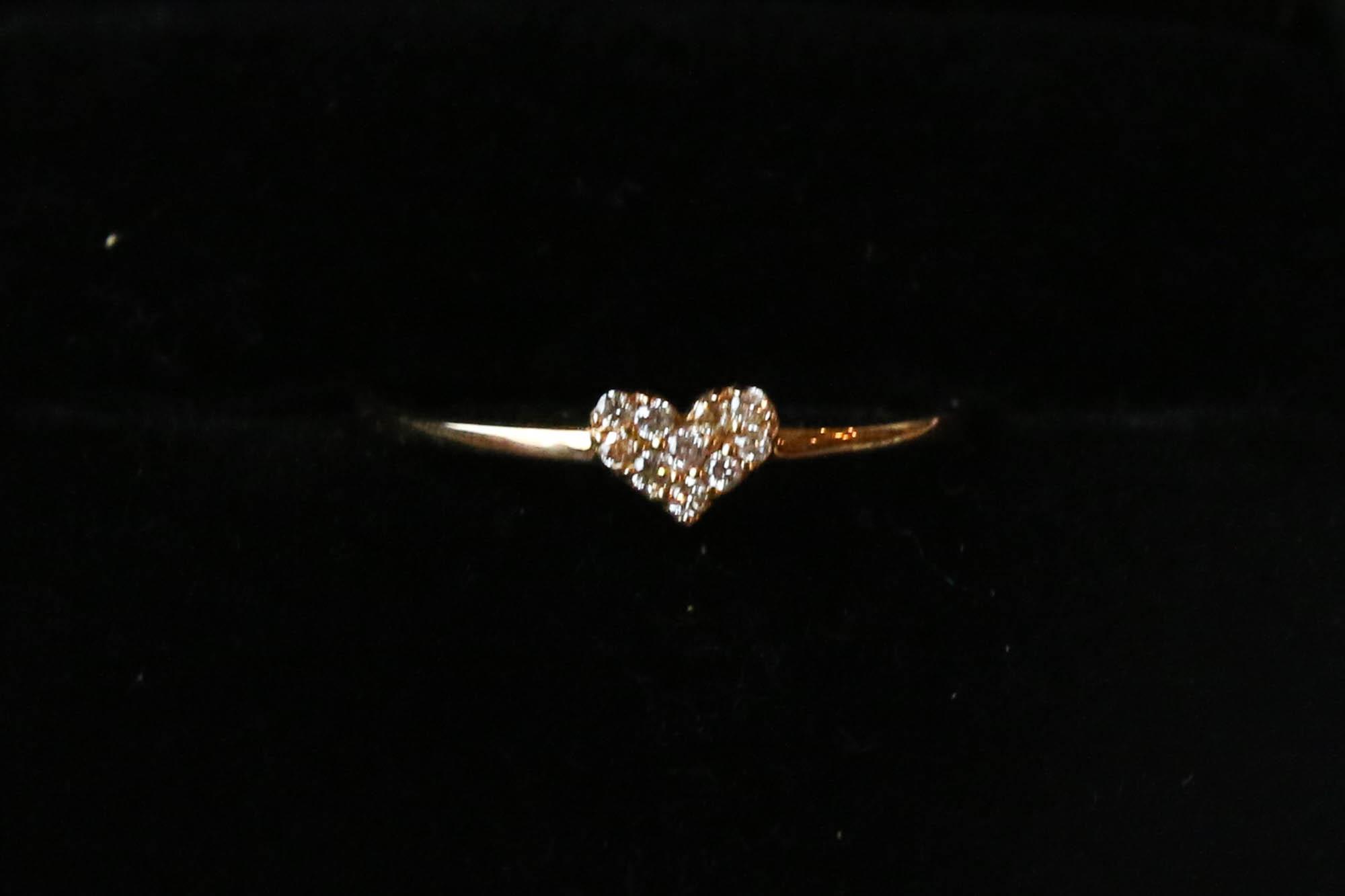 K10 Diamond Ring