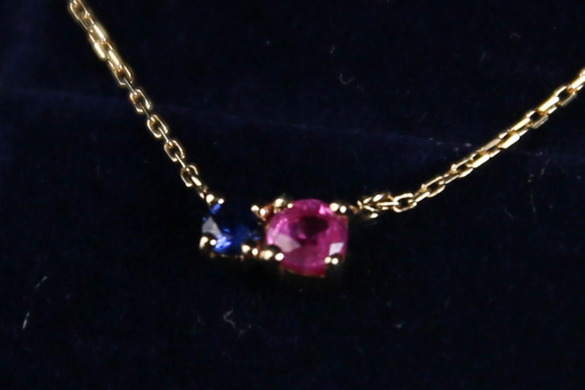 K10 Secret Infinity Necklace