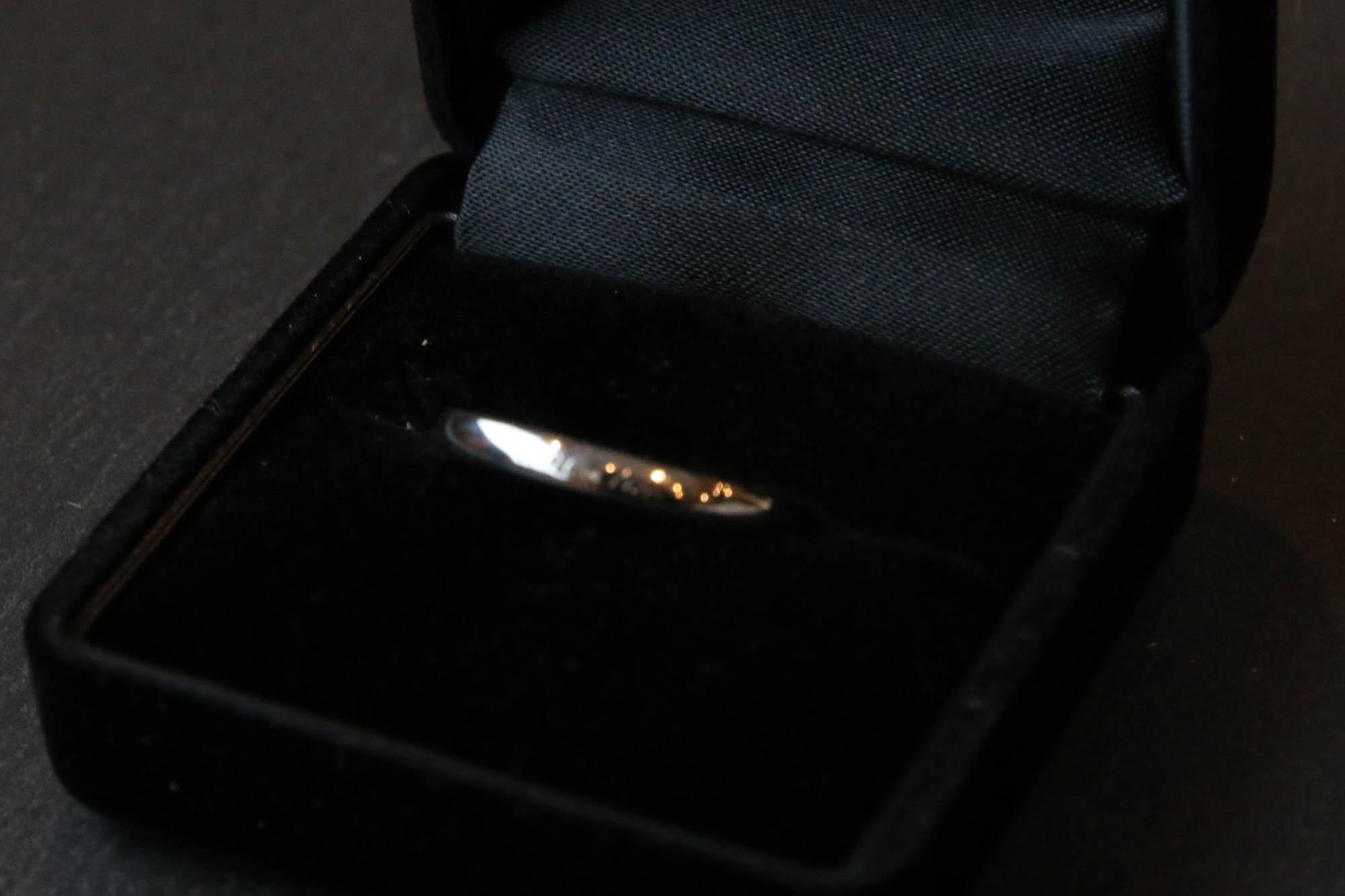 K10/Silver Pair Ring