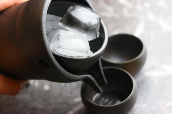 冷酒器ゆらり2合セット(杯2個付き)