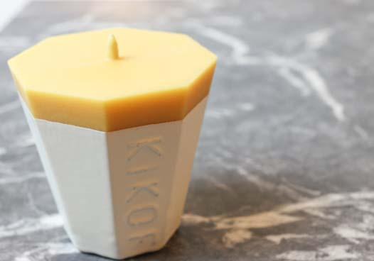 KIKOF Rice bran Candle01
