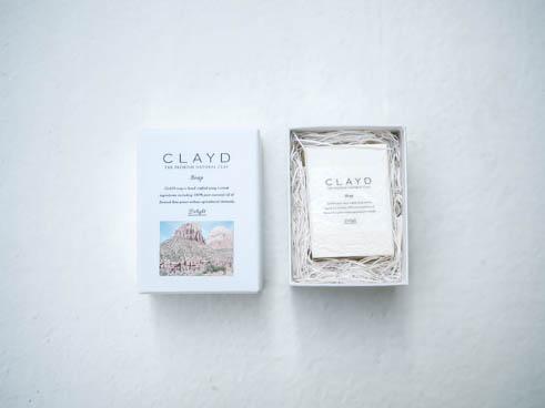 【特別な人へ贈るローズ】CLAYDSOAP -Damaskrose-