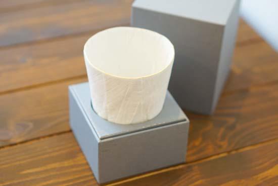 ceramic mimic fabricビアマグ