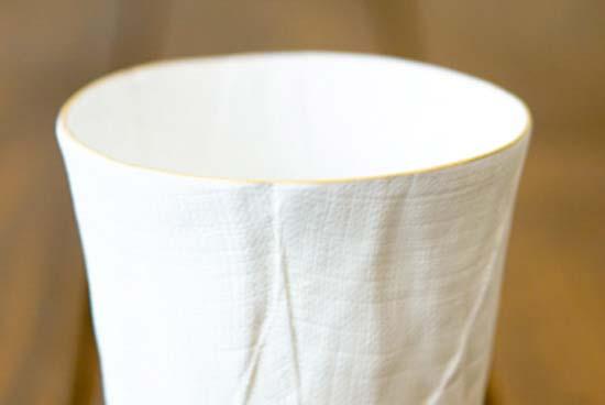 ceramic mimic fabric タンブラー
