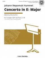Concerto in E-flat Major for Trumpet in B-flat or E-flat and Piano, S. 49
