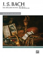 J. S. Bach: Six English Suites, BWV 806--811for the keyboard