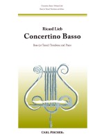 Concertino Basso for Bass (or Tenor) Trombone and Piano
