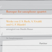 Baroque for saxophone quartet