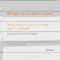 Baroque for saxophone quartet