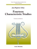 Fourteen Characteristic Studies for Trombone (Euphonium)