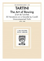 The Art Of Bowing (L'art de l'archet) 50 Variations on a Gavotte by Corelli Unaccompanied Violin