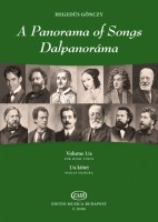 A Panorama of Songs 1/a -Easy songs from four centuries in six languages for high voice