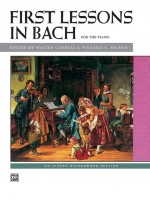 First Lessons in Bach for the piano