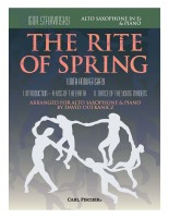 The Rite of Spring 100th Anniversary Movements I and II Arranged for Alto Saxophone in E-flat and Piano