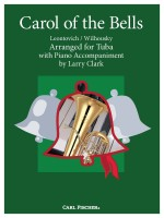 Carol of the Bells (Tuba, Piano)