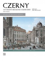 Czerny: 160 8-Measure Exercises, Opus 821 for the piano (Short Studies)