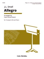 Allegro for Trumpet in B-flat and Piano
