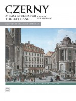 Czerny: 24 Studies for the Left Hand, Opus 718for the piano