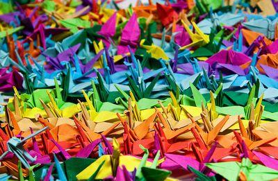 紙を折って形を作る。文字の発明と折り紙の誕生(前編)