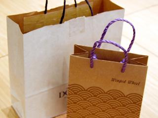 ショッピング紙袋にみるエシカルな流れ