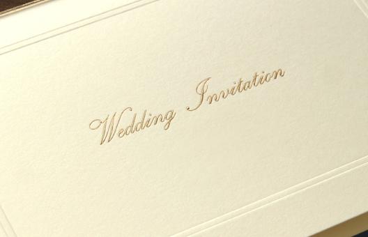 ウエディング(招待状・席次表など)