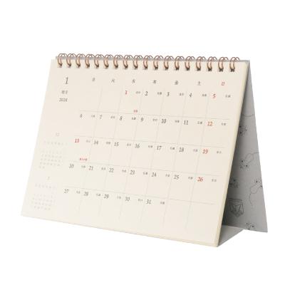 「活版印刷の卓上カレンダー」の販売を開始しました