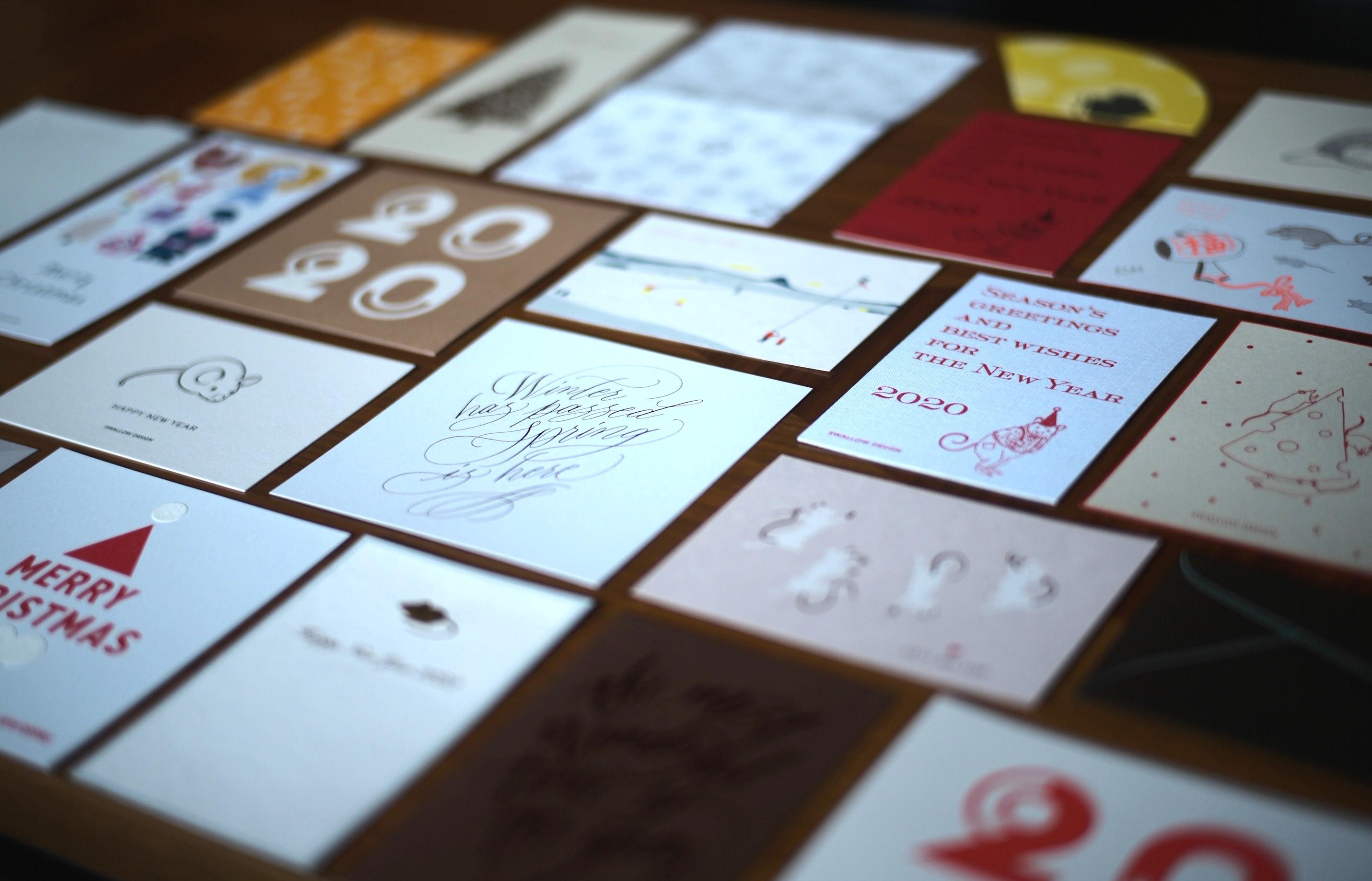 年賀状とグリーティングカード