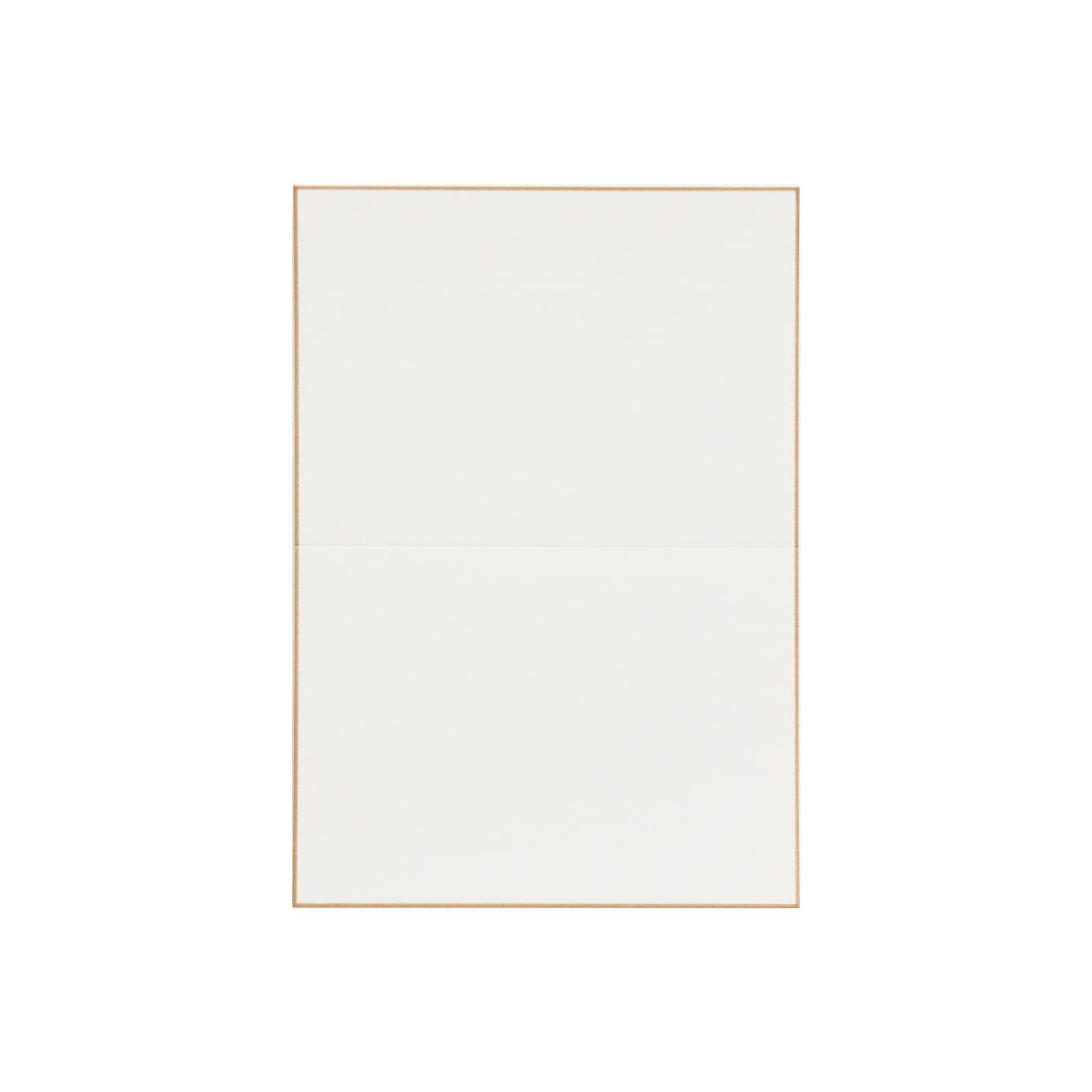 No.56ボーダード PVカード ゴールドスノーホワイト 232.8g