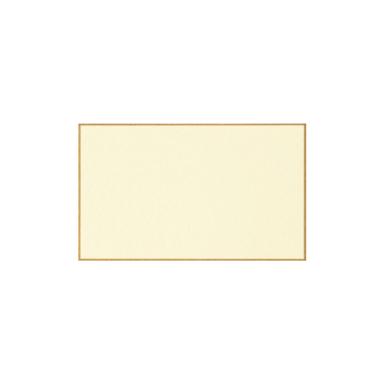 No.57ボーダード ネームカード ゴールド 232.8g